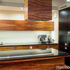 Kuchnia Z Fornirem Palisander Harmony Studio