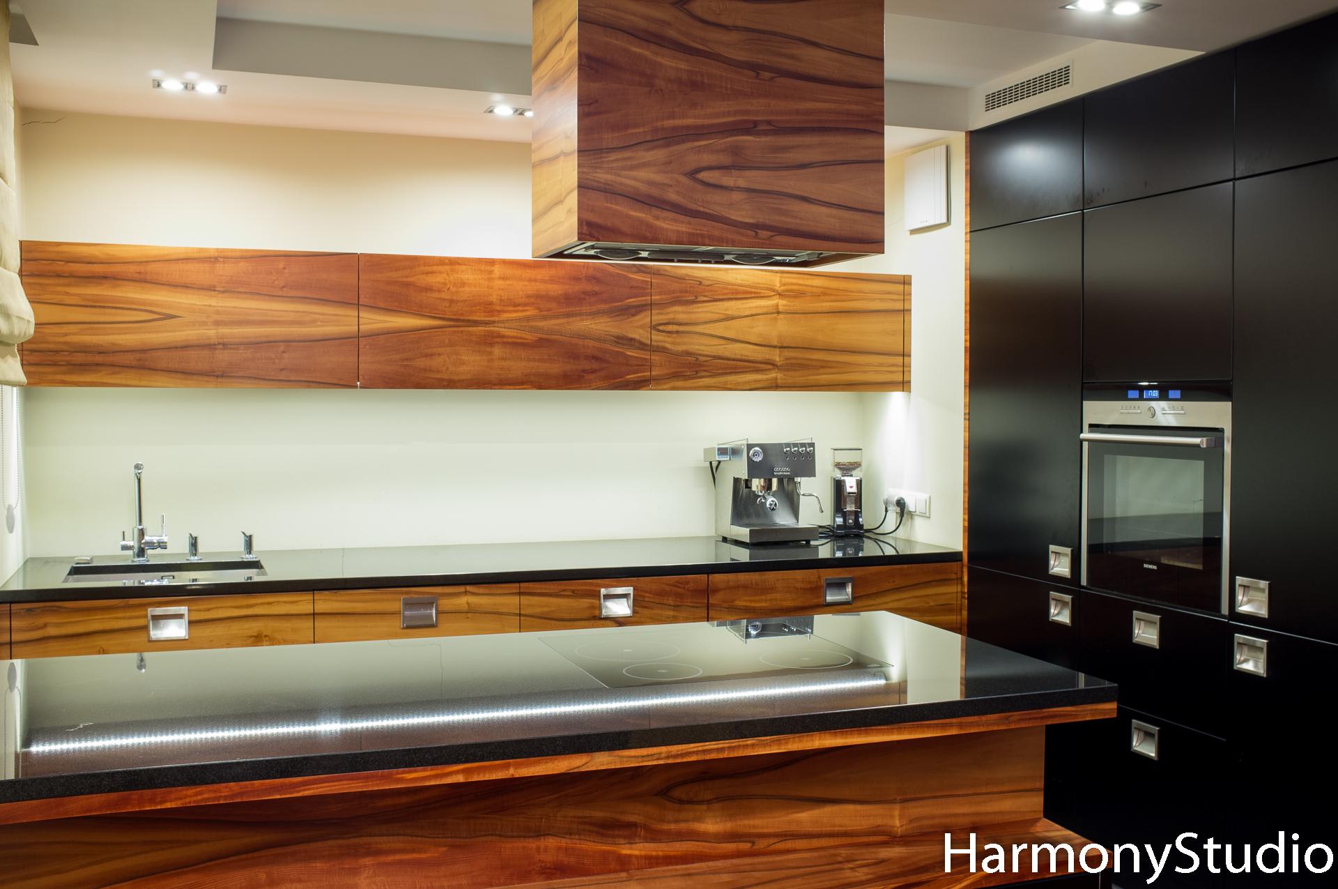 Kuchnia Z Półwyspem Harmony Studio