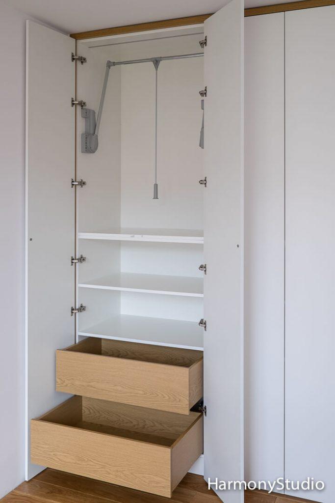 wyposazenie szafy na wymiar