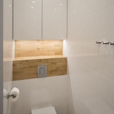 szafka łazienkowa na wymiar do wc